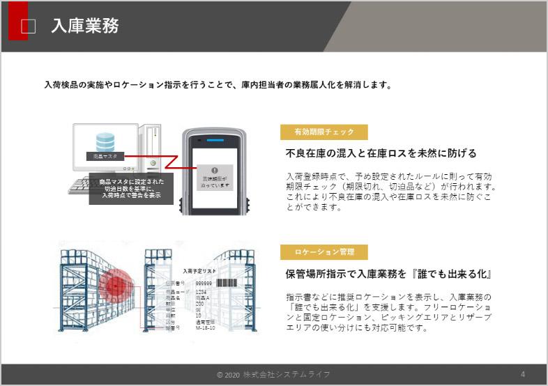 業務運用概要や主要機能を解説!倉庫管理システム 資料ダウンロード